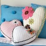 DIY布枕头:90后最喜爱的卧室装饰