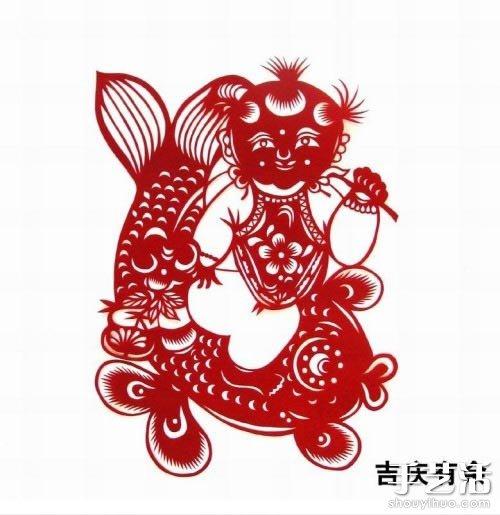 传统手工:春节窗花剪纸欣赏
