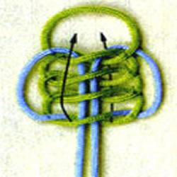 藻井结、吉祥结、平结、万字结、双联结制作方法