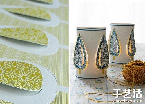 手工制作的纸灯 感受原始淳朴之美 -  www.shouyihuo.com