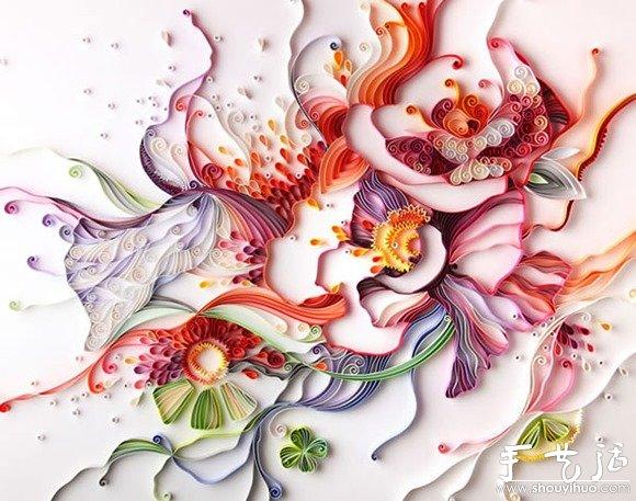 俄罗斯艺术家yulia brodskaya的卷纸作品(4)