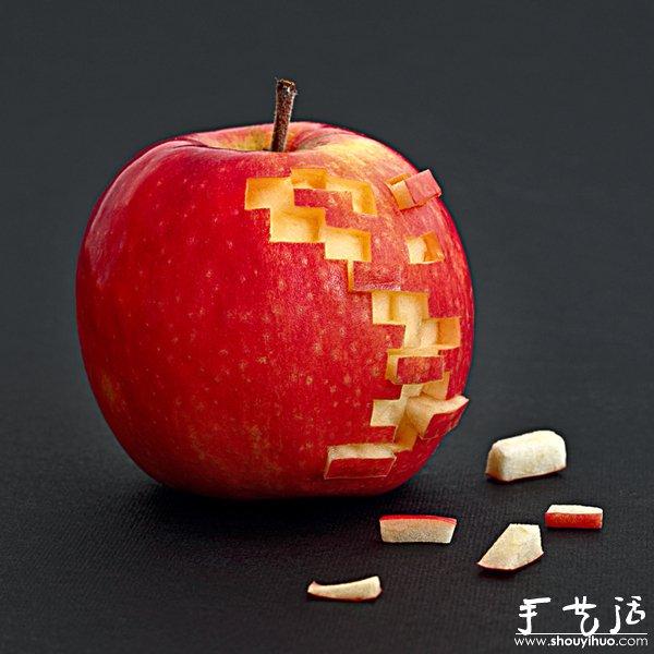 水果蔬菜雕刻的创意作品(2)