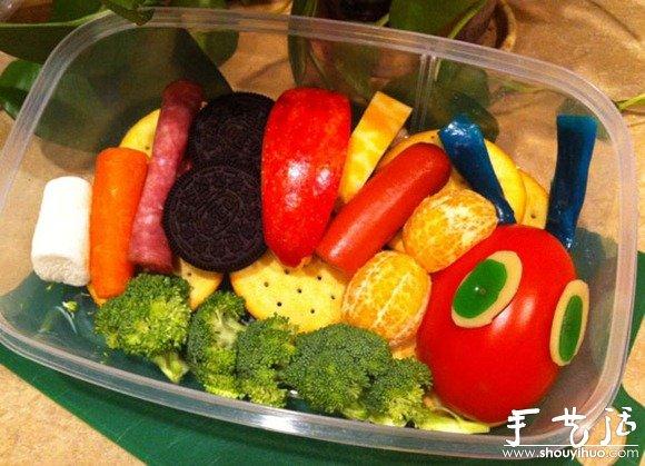 可爱水果便当图片