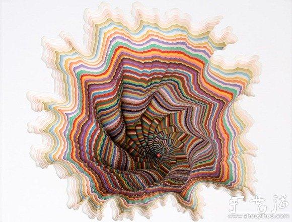 催眠手工纸雕塑 - www.shouyihuo.com