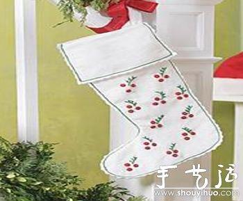 手工制作圣诞袜 - www.shouyihuo.com