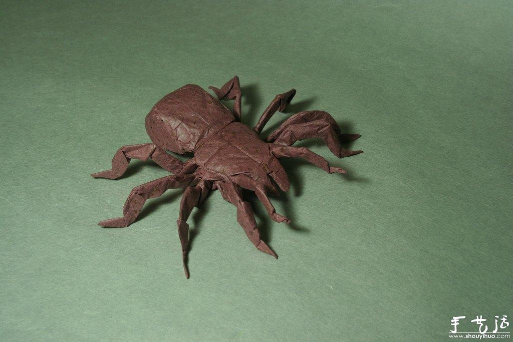 逼真的动物手工折纸作品欣赏(2)