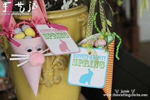小老鼠杂物收纳桶的手工DIY -  www.shouyihuo.com