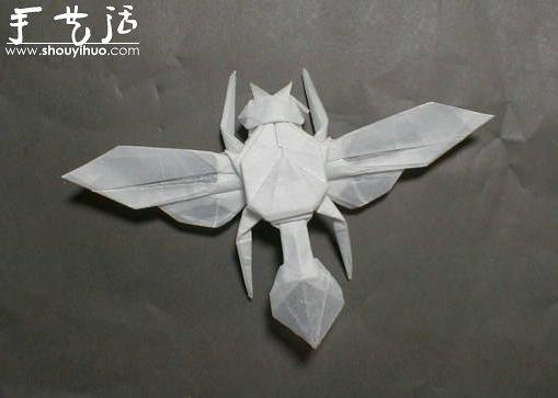 昆虫折纸作品欣赏(6)