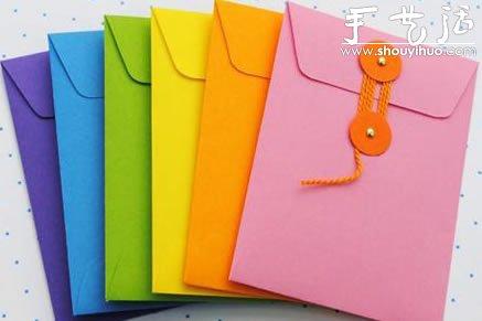 文件袋手工制作方法 - www.shouyihuo.com