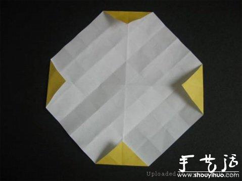 玫瑰摺紙方法教學