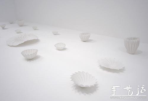 摺紙陶瓷器皿