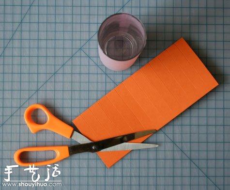 手工剪纸纸灯笼