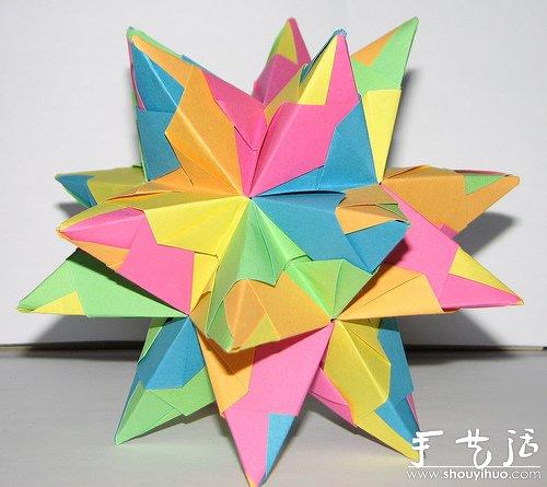 立体小动物折纸大全猴子
