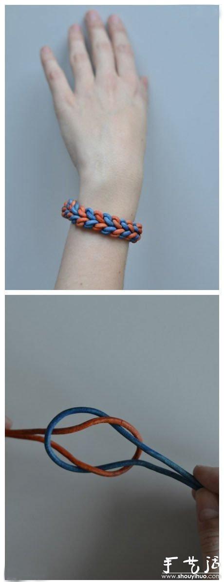 漂亮手链的手工制作方法