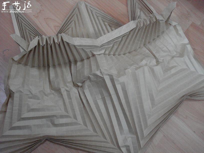 暗黑破壞神大菠蘿的摺紙作品欣賞