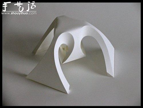 幾何立體摺紙作品欣賞