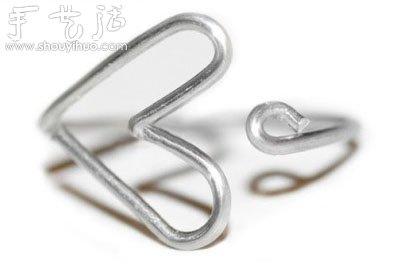 心形戒指铁艺制作方法