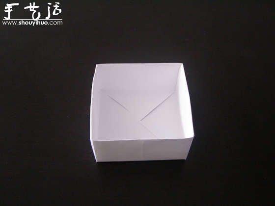 简单纸盒的手工制作方法(4)