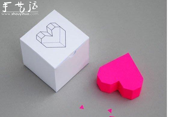 非常简单心形折纸教程