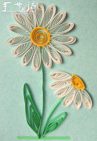 精美的卷纸画作品欣赏 -  www.shouyihuo.com