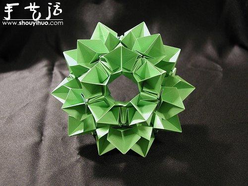 复杂几何立体折纸作品欣赏(4)