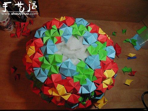 立体几何折纸作品欣赏 3