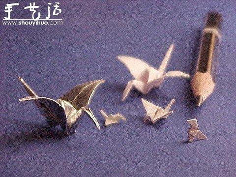 微型摺紙作品欣賞
