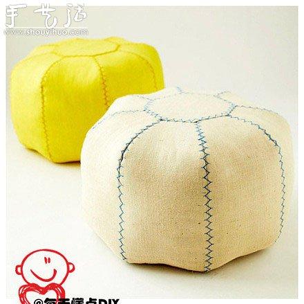 布艺凳子的手工制作方法