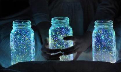 星空瓶教程视频_美轮美奂的星空玻璃瓶diy制作教程