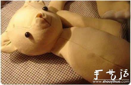 公仔泰迪熊的手工布艺DIY教程 -  www.shouyihuo.com