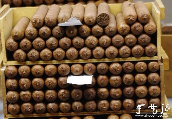 古巴雪茄手工制作过程大揭秘 -  www.shouyihuo.com