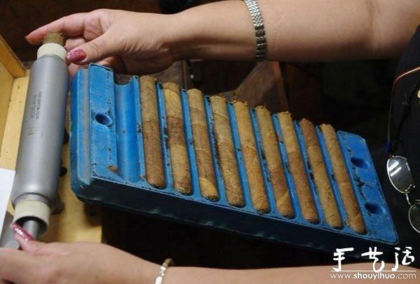 古巴雪茄手工制作过程大揭秘(9)