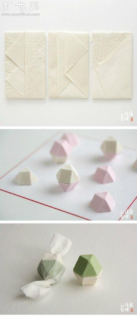 日本和紙DIY禮品或者包裝欣賞