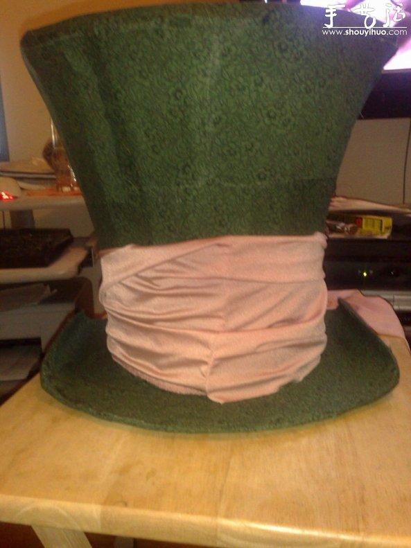 废旧纸箱手工diy制作cosplay帽子
