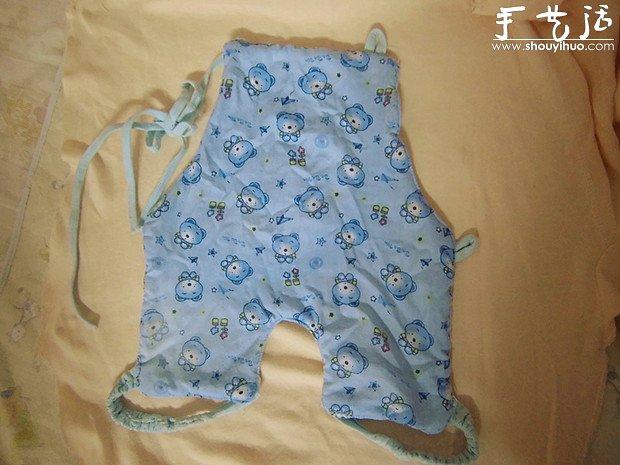 爱心妈妈给宝宝手工制做肚兜的教程