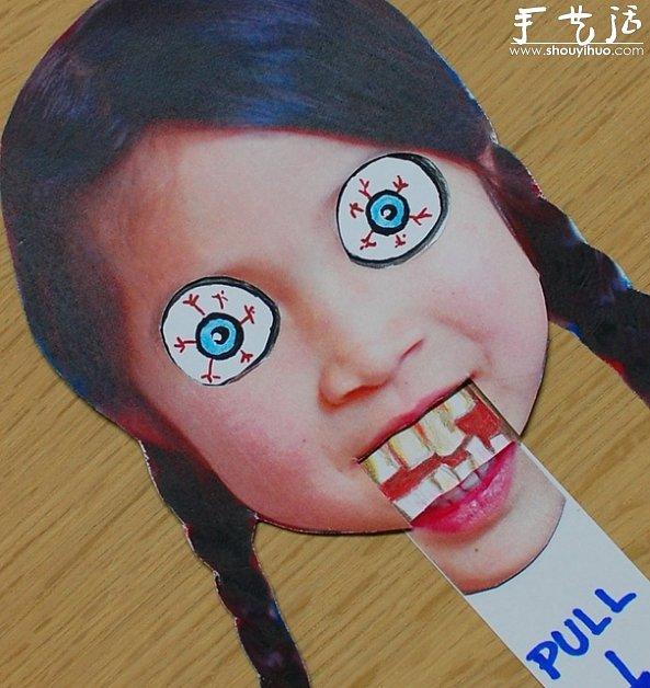 卡纸面具手工制作图片
