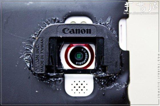 給膠片機裝上數碼後背的創意DIY