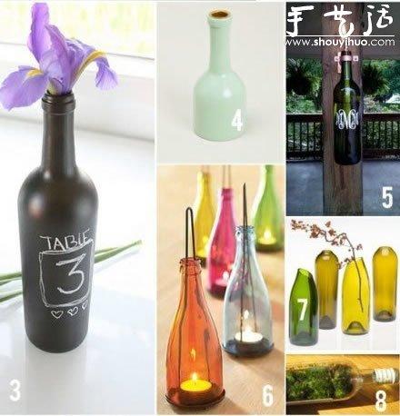 红酒瓶的创意diy
