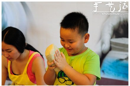 幼儿陶艺DIY 好玩又有趣