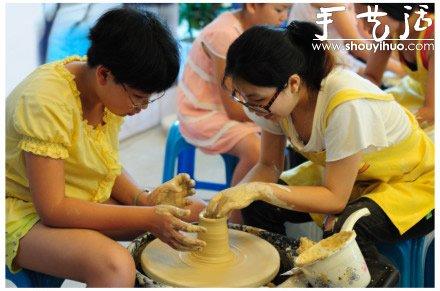 幼儿陶艺DIY 好玩又有趣- www.shouyihuo.net