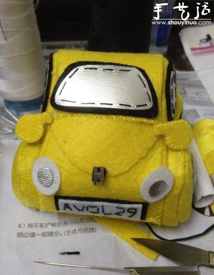 艺作品 可爱的甲壳虫汽车高清图片