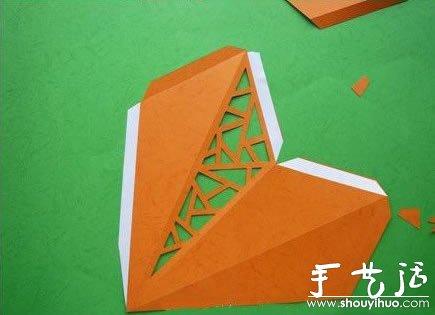 星星/五角星/海星的紙藝教學