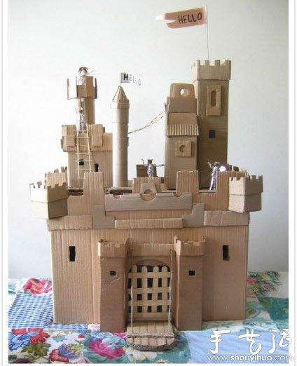 废旧纸箱手工DIY孩子们的玩具世界