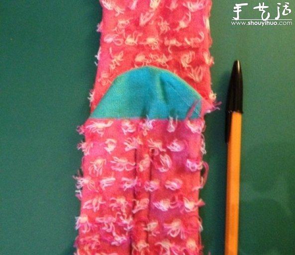 用袜子手工制作一只小猴子只需简单30步;;