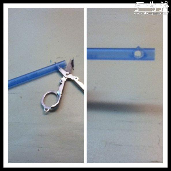 圆珠笔袖珍弩的手工制作方法