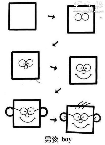 可爱简笔画教程 5