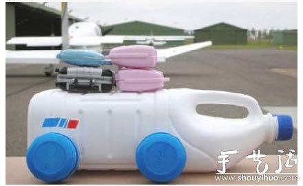 酸奶瓶子DIY家庭房车