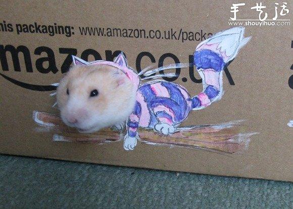 如何给仓鼠做衣服图解