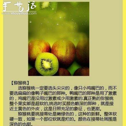 水果商的挑水果秘诀 -  www.shouyihuo.com