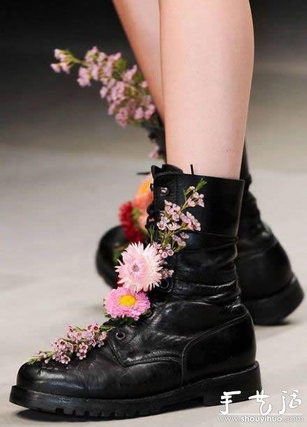 花团锦簇的鞋子(2)